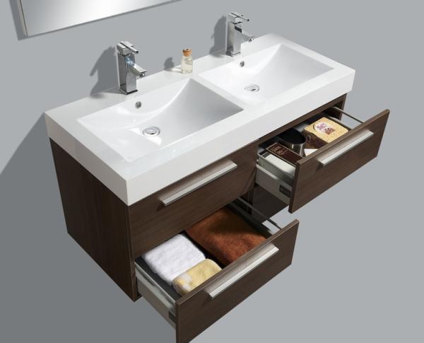 Badkamermeubel 50 Breed : Detremmerie no limit wenge badkamermeubel product in beeld