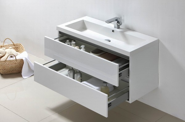 Badmeubelen badkamermeubelen badmeubels badmeubel keramische wastafel megadump tegels en sanitair - Wit badkamer design meubels ...