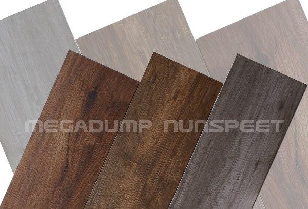 Goedkope houtlook tegels  u0026quot;Keramisch parket u0026quot; houtnerf stroken hout Castelvetro vloertegels badkamer
