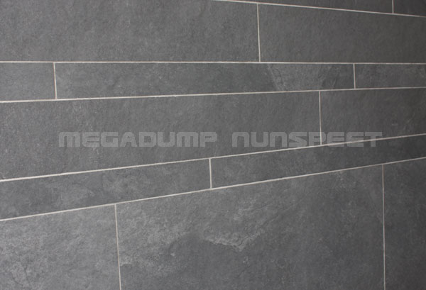 Tegelstroken goedkope strooktegels natuursteenstrips steenstrips natuursteen vloertegels badkamer - En grijze bad leisteen ...