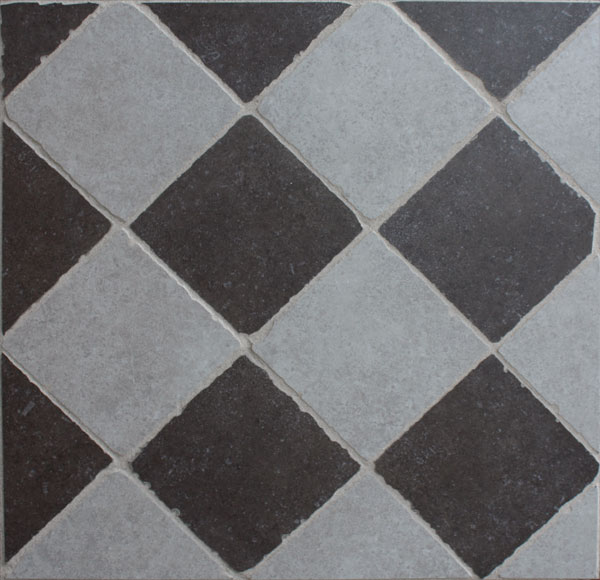 Keuken Vloertegels Zwart Wit : keuken vloer en wandtegels zwart wit ...