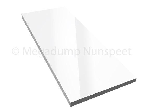 Wandtegels Badkamer Hoogglans Wit Gekalibreerd Gerectificeerd 30 X 60 ...