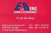 Bouw & klusbedrijf E. van den Berg Hierden
