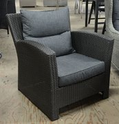 09 Losse wicker lounge stoelen