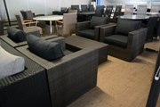 Loungeset 4 stoelen wicker