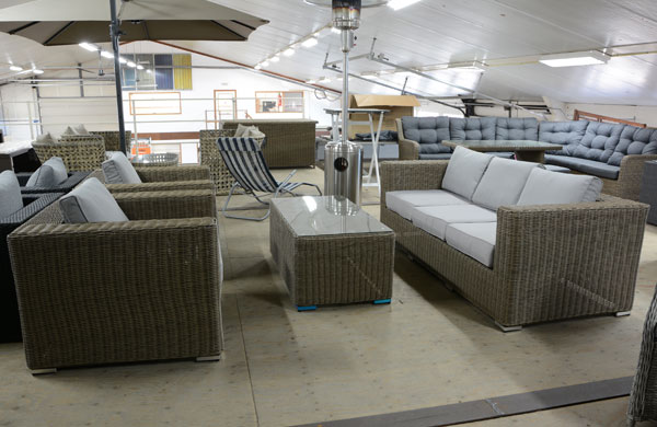 Loungeset inclusief kussens