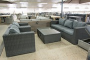Lounge set bank + stoelen