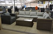 Loungeset hoekbank complete set wicker