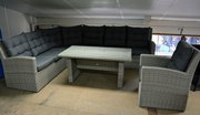 Loungeset compleet wicker dining